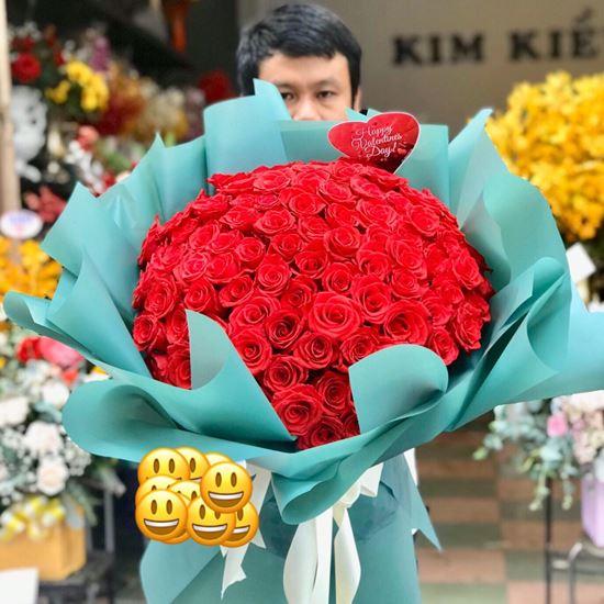 Bó hoa hồng đỏ- HB03