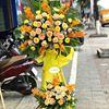 Kệ hoa hồng , lan vàng- KH26