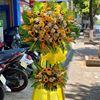 Kệ hoa hướng dương, lan vàng- KH28