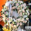 Vòng hoa viếng hoa hồng- KV05