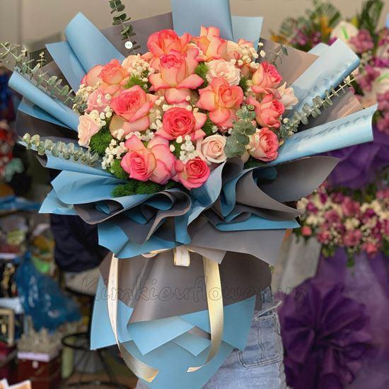 Bó hoa hồng đại hỷ - HB161