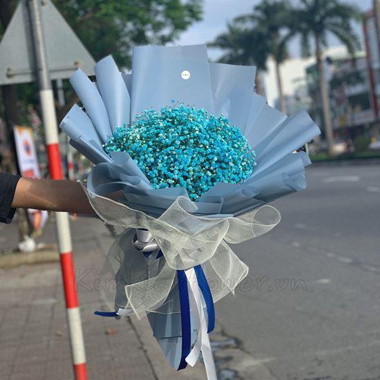 Bó hoa baby xanh - HQ34