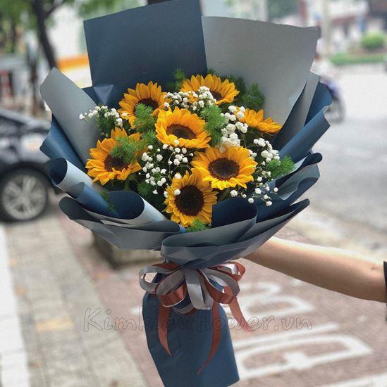 Bó hoa hướng dương-HQ66