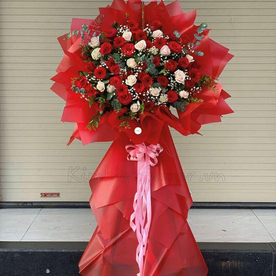 Kệ hoa hồng kem, đỏ - KH69