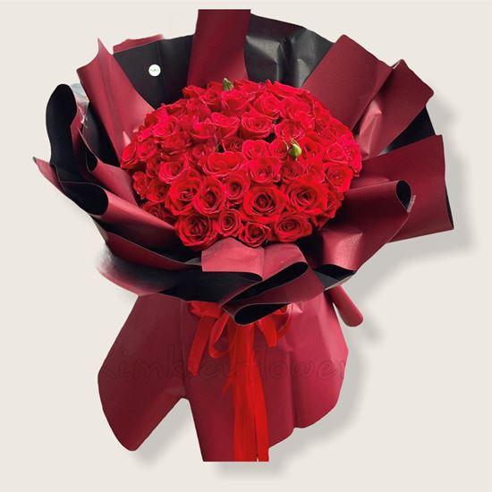 Bó hoa hồng đỏ-HB115