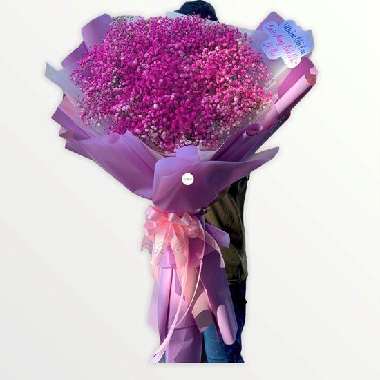 Bó hoa baby hồng - HB195