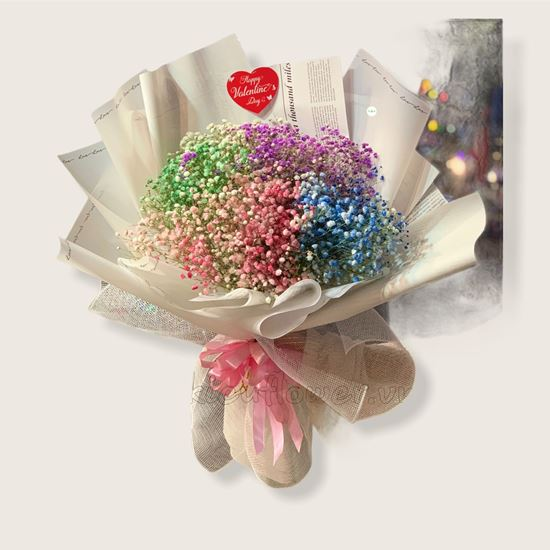 Bó hoa baby nhiều màu - HB170