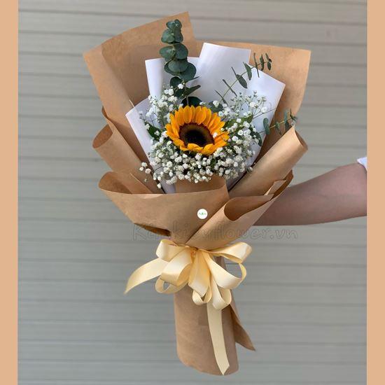 Bó hoa hướng dương 1 bông - HB229